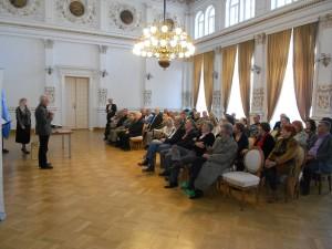 Glumac Miodrag Petrović kazuje Zavet o jeziku