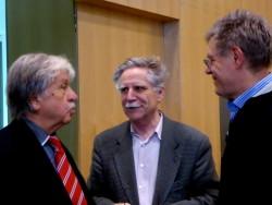 Rade Bakračević, Franci Pivec i Branko Zebec