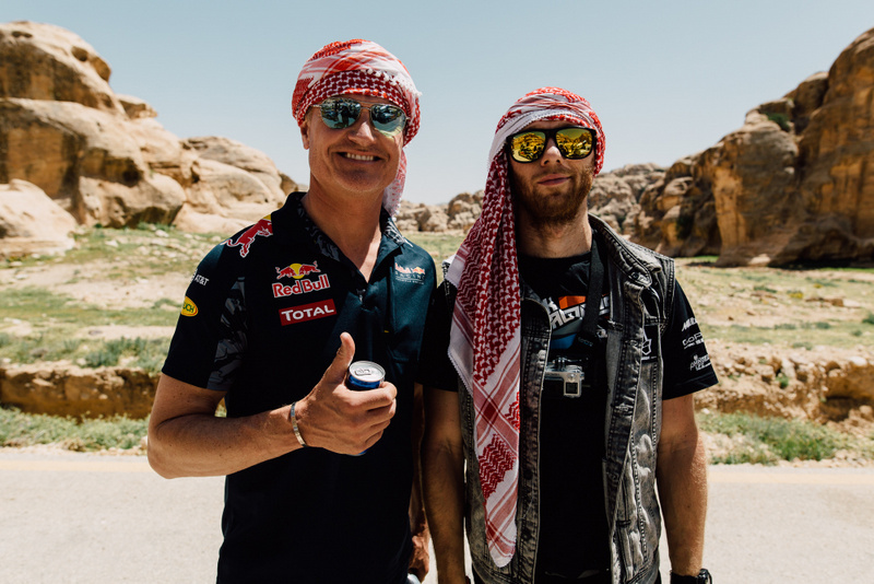 David Coulthard in Rok Bagoros - stara znanca