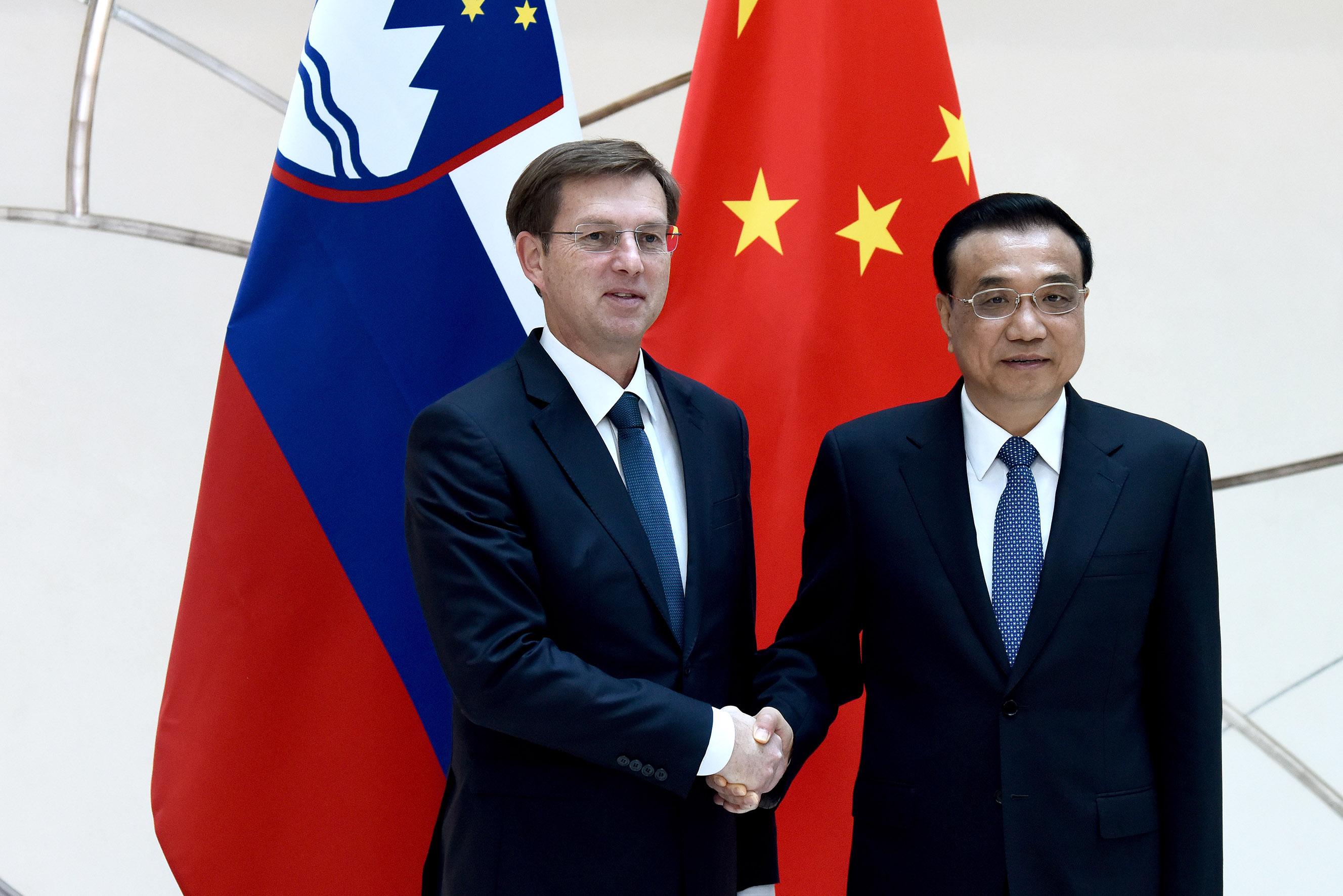 Budimpešta bilaterala s kitajskim predsednikom vlade Foto: Tamino Petelinšek/STA