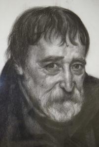 Prof. Lojze Logar, akademski slikar