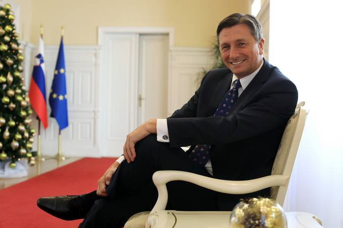 Borut Pahor, portret Foto: Robert Balen