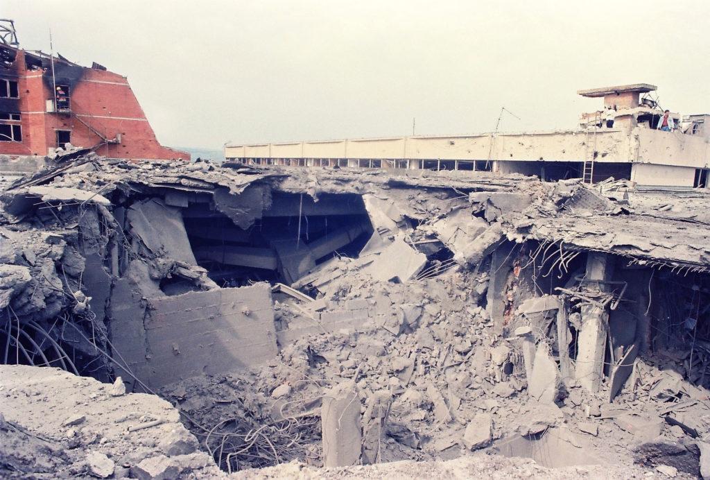© Foto Darko Dozet RTV Nato Bombardovanje Novi Sad 1999. Foto Darko Dozet